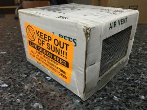 Queen bee shipping box