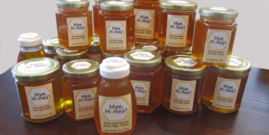 Hye Honey Jars - Honey harvest
