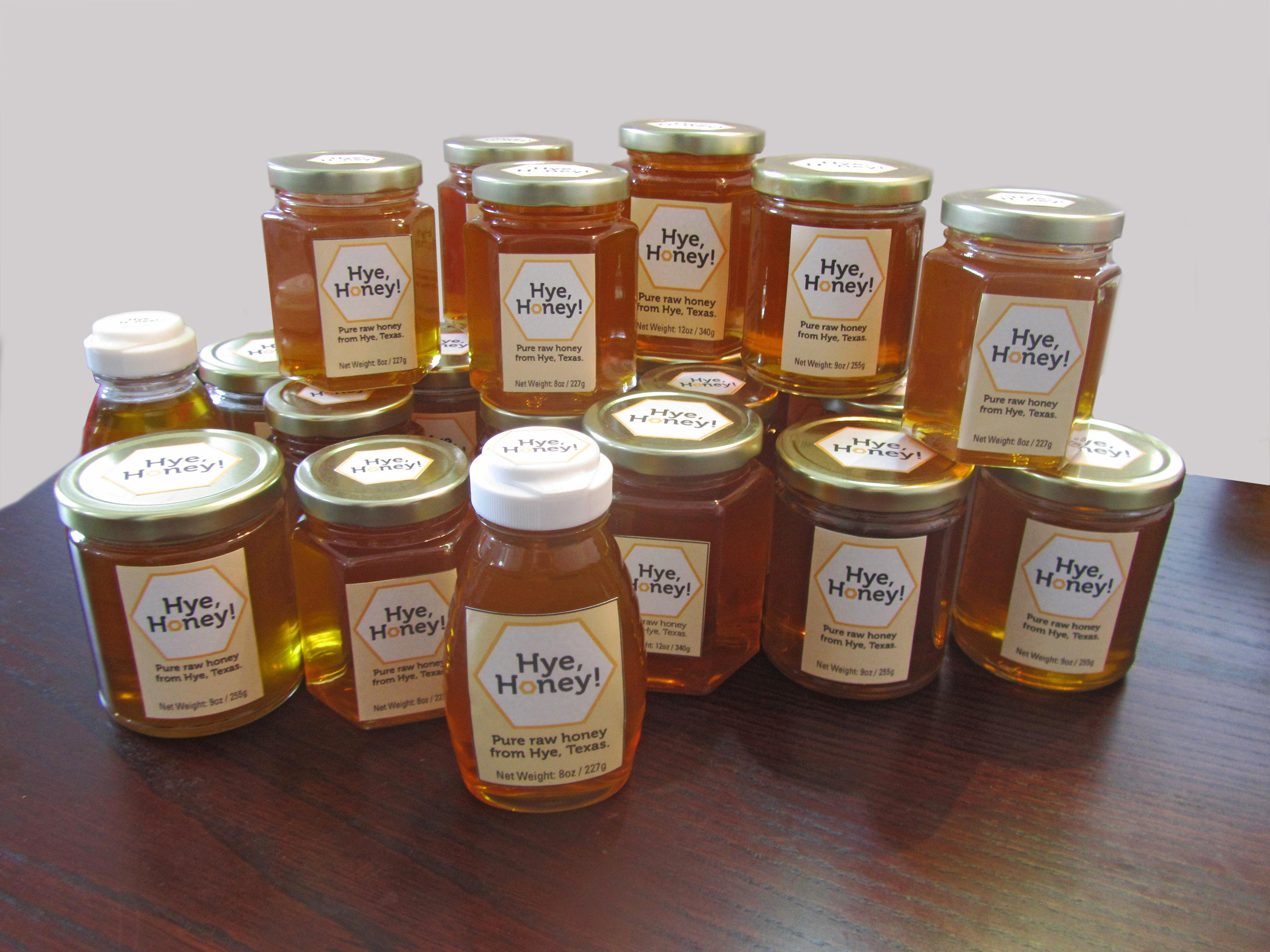 Hye Honey Jars - Honey harvest